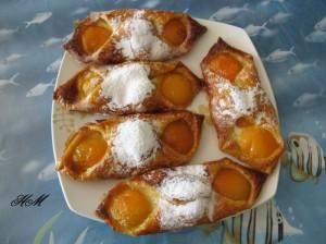 Feuilletée abricots